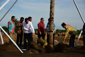 Presiden Jokowi Resmikan Hutan Pers Taman Spesies Endemik