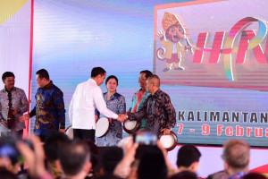 Presiden Jokowi Kenalkan Ibukota Negara Baru Ramah Lingkungan DI HPN 2020 Kalsel