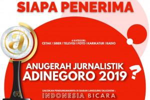 Siaran Pers Anugerah Adinegoro 2019