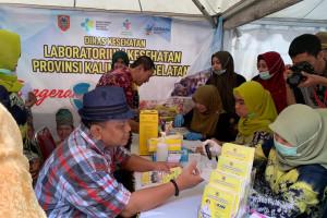 1.211 Orang Manfaatkan Layanan Kesehatan Gratis HPN. Pemeriksaan Darah dan TPM Paling Diminati