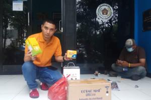 PWI Peduli Pusat Kirim Bantuan, PWI Bogor Bilang: Hanupis