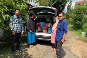 PWI Peduli Masuk Desa Salurkan Bantuan Warga Terdampak Covid 19