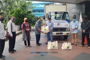 Kementerian PUPR Salurkan Bantuan Sosial Bersama PWI Pusat