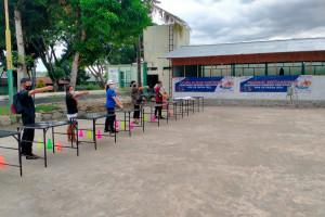 Kesiapan Eksibisi Cabor Modern Pentathlon di Pekan Olahraga Nasional (PON) XX/2021 Papua