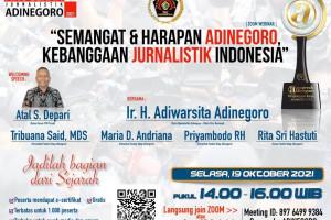 SEMANGAT DAN HARAPAN ADINEGORO, KEBANGGAAN JURNALISTIK INDONESIA